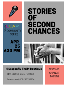 10 Days of Connection: Stories of Second Chances @ Dragonfly Thrift Boutique